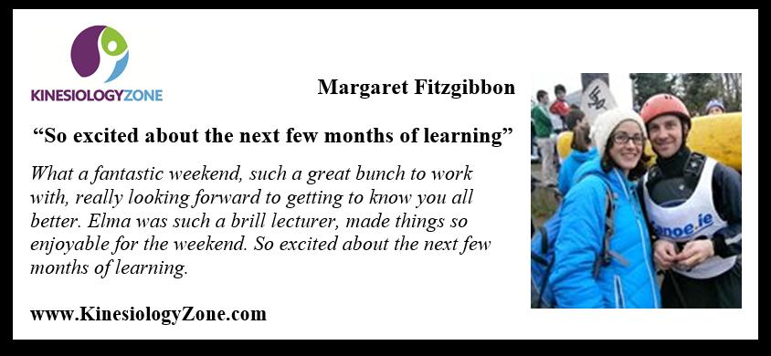 Testimonia Margaret Fitzgibbon dip