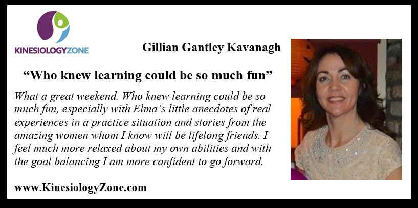 Testimonial Gillian Kavanagh dip pm