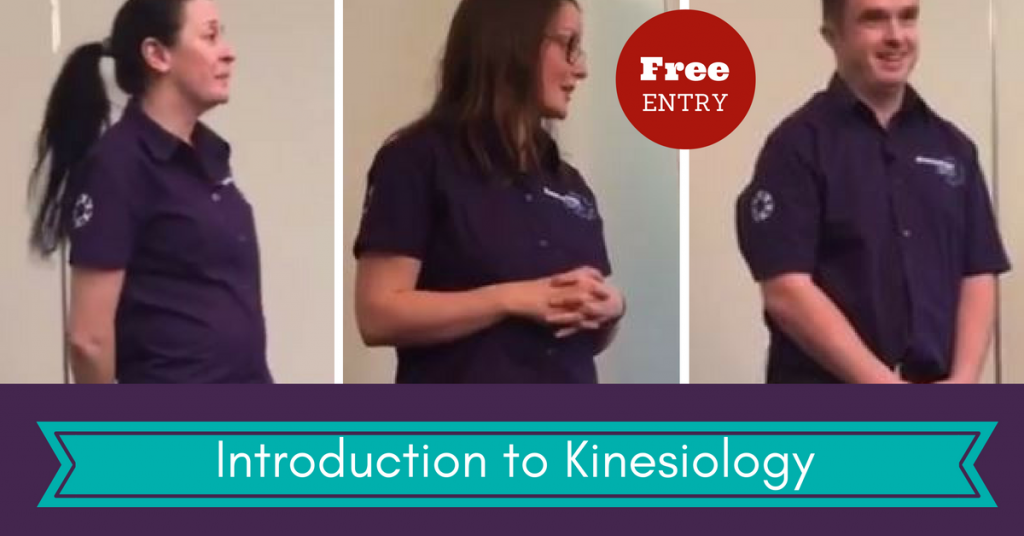 Free talks about Systematic Kinesiology