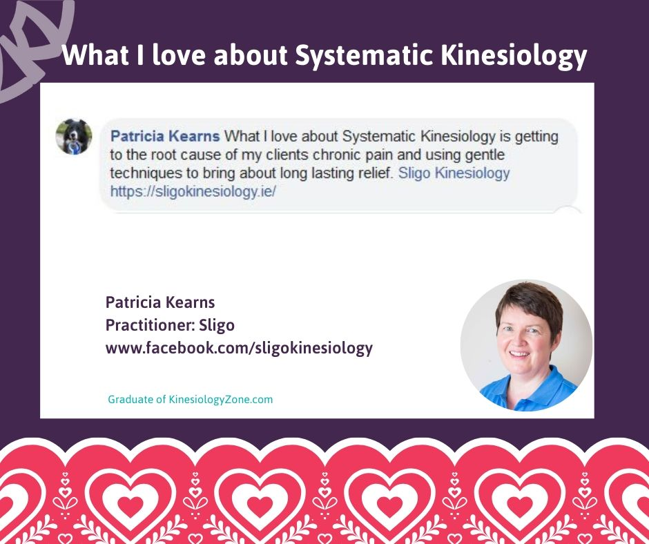 Patricia Kearns Systematic Kinesiology