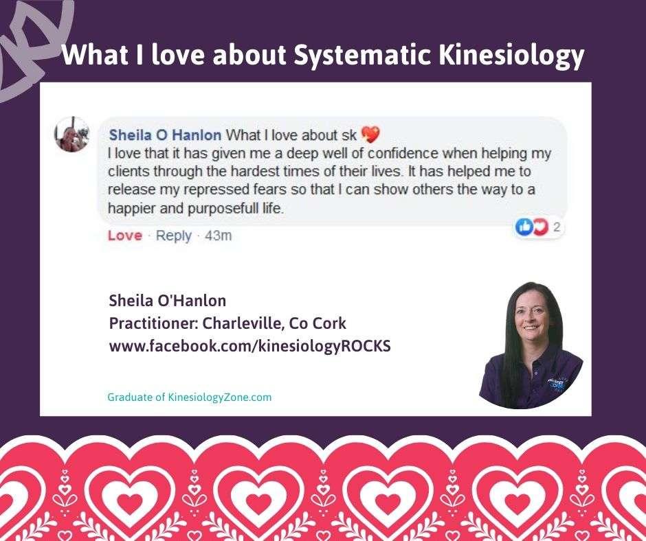 Sheila O'Hanlon Systematic Kinesiology